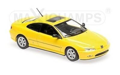 PEUGEOT 406 COUPE YELLOW