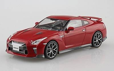 NISSAN GT-R VIBRANT RED