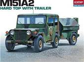 M151A2 HARD TOP WITH TRAILER