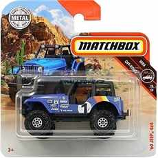 AUTÍČKO MATCHBOX JEEP 4x4 1960