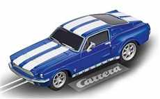 AUTO NA AUTODRÁHU CARRERA GO!!! 64146 FORD MUSTANG 1967 RACING BLUE