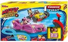AUTODRÁHA CARRERA 1.  FIRST MICKEY AND THE ROADSTER RACERS NA BATERIE
