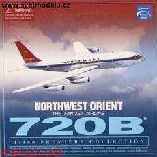 BOEING 720B NORTHWEST ORIENT THE FAN-JET AIRLINE