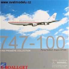 BOEING 747-100 GP AIRCRAFT ENGINES FLYING TESTBED - EMGINE GP7200