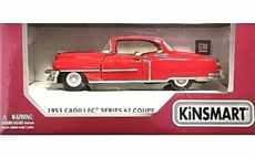 CADILLAC SERIE 62 COUPE RED
