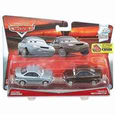 CARS 3 CARS DAREDEVIL GARAGE HEATHER DRIFENG A MICHELLE MOTORETTA 2-PACK