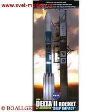 DELTA II ROCKET NASA DEEP IMPACT LAUNCH JANUARY 12TH 2005