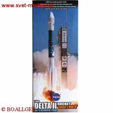 DELTA II ROCKET USAF GPS-IIR-16 LAUNCH NOVEMBER 17TH 2006