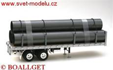 Flatbed Trailer with Load (1:24)