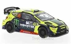 FORD FIESTA RS WRC MONSTER No.  46 V.  ROSSI /  C.  CASSINA RALLY MONZA 2018