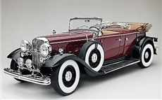 FORD LINCOLN KB OPEN 1932 MAROON