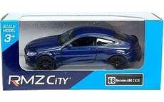 MERCEDES C63 AMG COUPE BLUE