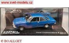 OPEL COMMORODE B GS/ E 1972 BLUE