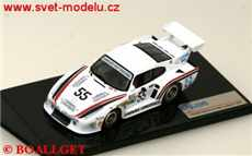 Porsche 935 K3 No. 55 J. Cooper-D. Wood-C. Bourgoine 4th and winner class Le Mans 1981