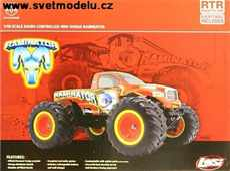 RAMINATOR MONSTER TRUCK 1:18 4WD RTR
