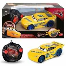 RC TURBO RACER AUTA 3 CARS 3 CRUZ RAMIREZ RTR 2, 4 GHz