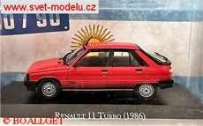 RENAULT 11 TURBO 1986 RED