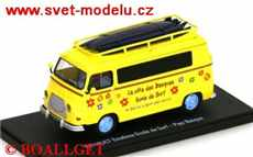 RENAULT ESTAFETTE ECOLE DE SURF YELLOW