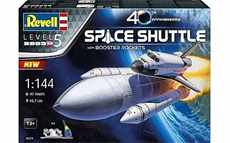 REVELL 05674 SPACE SHUTTLE WITH BOOSTER ROCKETS 40 TH ANNIVERSARY STARTER SET