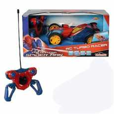 SPIDERMAN THE AMAZING AUTO RC TURBO RACER RTR 27MHz RED