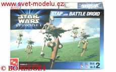 Star Wars STAP with BATTLE DROID