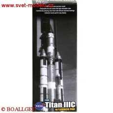 TITAN IIIC ROCKET W/ LAUCH PAD USAF