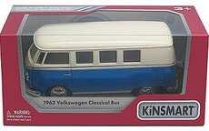 VOLKSWAGEN CLASSCAL BUS 1962 BLUE