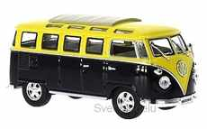VOLKSWAGEN T1 SAMBA 1962 BLACK /  YELLOW
