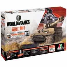 WORLD OF TANKS PZ.  KPFW.  VI TIGER WITH BONUS CODE